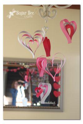 Paper Strip Hearts ~ Sugar Bee Crafts