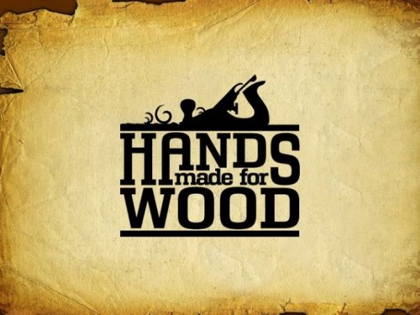 Hands Made Wood Logo Gaya Pinterest Wood Logo Logos And Logo