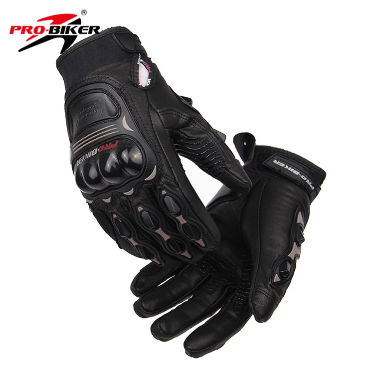 PRO-BIKER Men Women Motorcycle Gloves Leather Motocross Knight Gloves Racing Motorcycle Riding Gloves Luvas De Moto Guantes