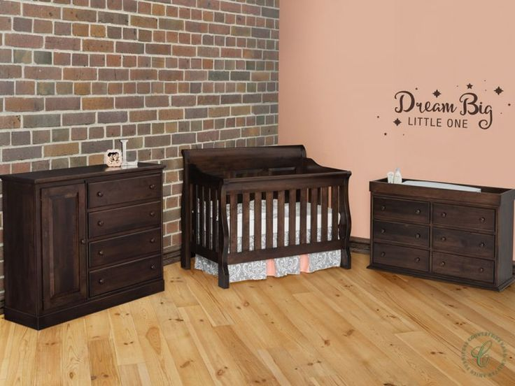 Our Geneva Amish Nursery Set Is Traditional In Style And Hand Built To  Order By