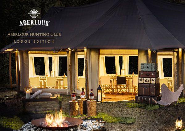 Le lodge éphémère de l'Aberlour Hunting Club 2016 #whisky #gastronomie