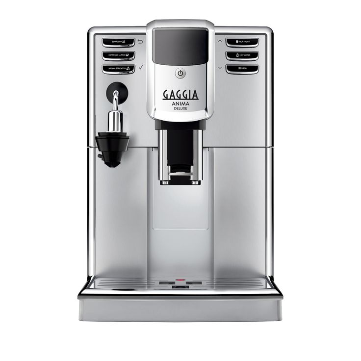 Gaggia Anima Deluxe Super-Automatic Espresso Machine - Who's ready for the New Gaggia Espresso Machines?! I know we are! The new Anima line resembles the modern, sleek, touch of the espresso machine!