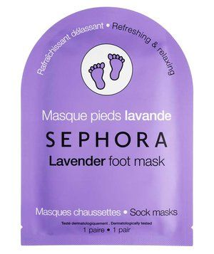 Sephora Collection Foot Mask | With sandal season in full swing, it's time to give your feet some TLC. No time for the salon? Here, six easy-to-use products that will whip your heels into shape at home.