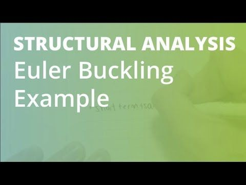 Euler Buckling Example 1 | Structural Analysis - YouTube