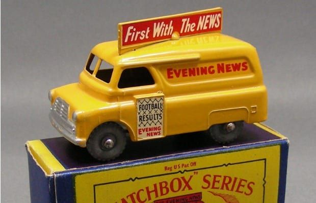 1957 Bedford Evening News - Gallery: The 50 Coolest Matchbox Cars | Complex