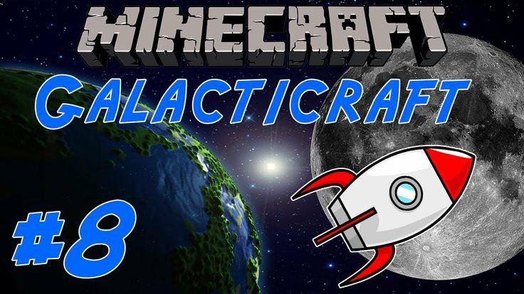 Minecraft: GalactiCraft ITA #8 - LO SBARCO SULLA LUNA!