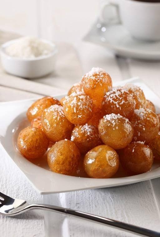 عوامة - Palestinian Food - Awama - A delicious sweet treat from Gaza.