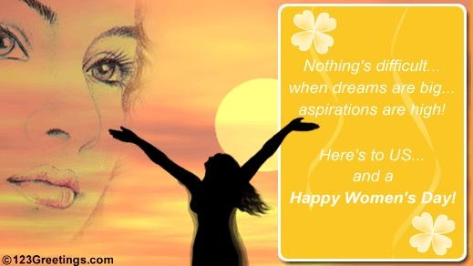 A powerful message to wish your #friend or #family member! #womensday