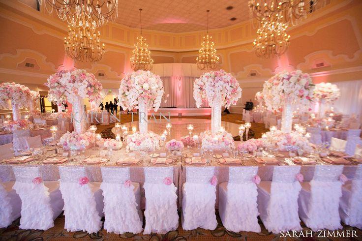 Extravagant pink wedding at The Hotel Del Coronado   Karen Tran