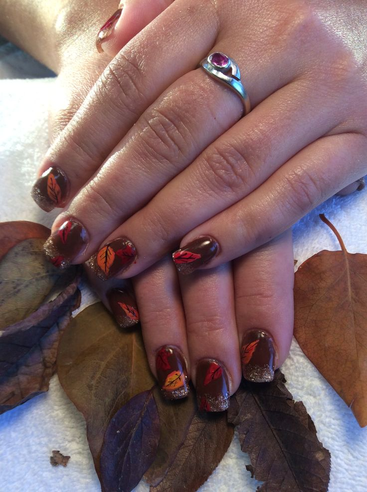Nails by Ann done at Tangles Hair Studio and Day Spa Red Deer Alberta 403-342-4222 www.nailsbyanneducation.com