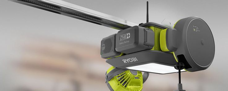 Ryobi Smart Garage Door Opener Has A Fan Laser Beams