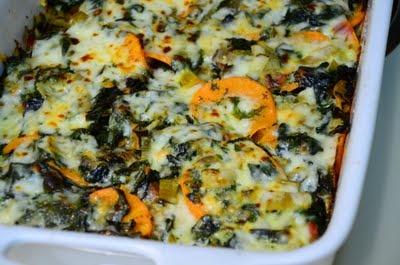 food for scot: Swiss Chard and Sweet Potato Gratin