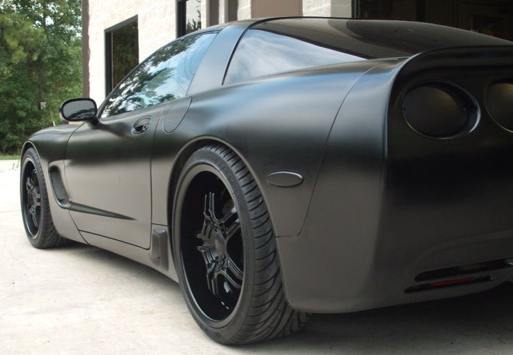 Blacked out Corvette
