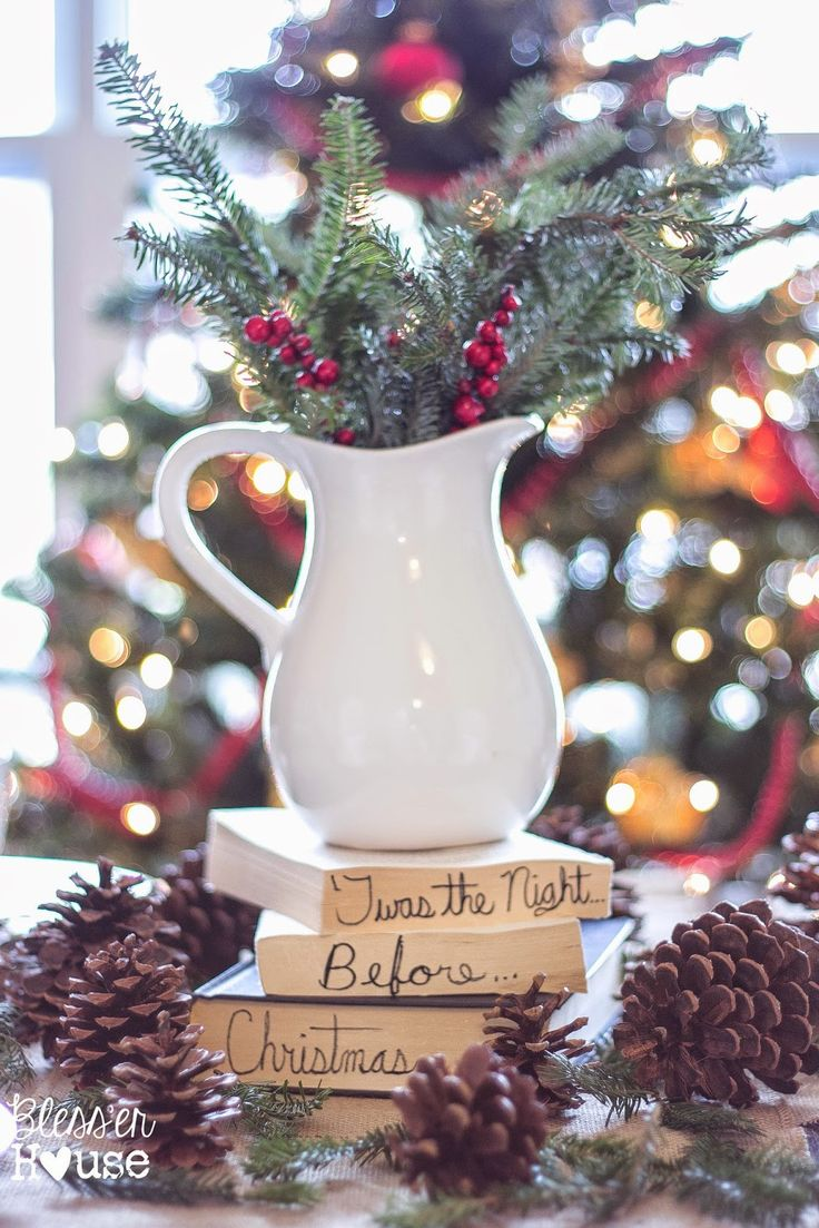 6 Ways to Decorate for Christmas for Next to Nothing - Bless'er House