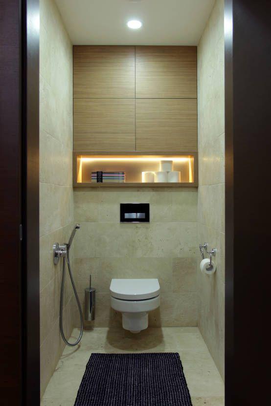 Однушка : Ванная комната в скандинавском стиле от Lugerin Architects