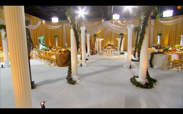 roman wedding david tutera themed weddings pinterest