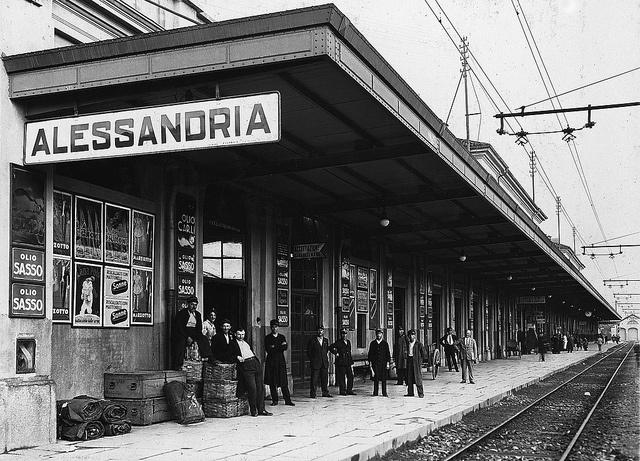 Alessandria by Ferrovie dello Stato Italiane, via Flickr  Still the same....