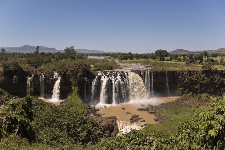The Falls of the Blue Nile, Ethiopia - Blue Nile Falls. Photo by A.Davey