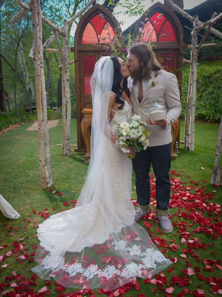 Brie Bella & Daniel Bryan's wedding