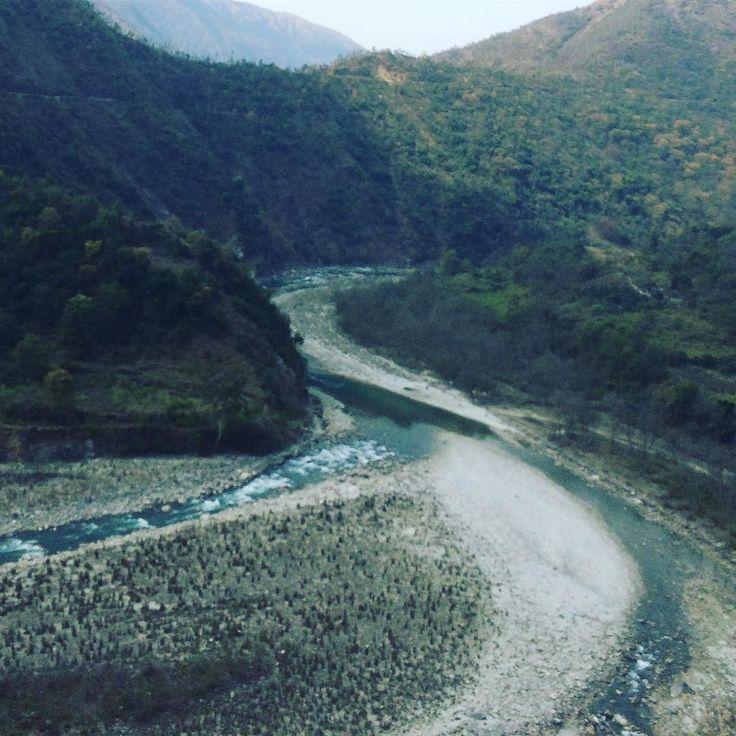 Did Yanuna looked any more pristine?? #picoftheday #instapic #uttarakhand #traveldiary