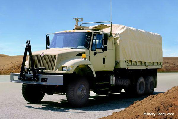 Navistar 7000 Series | The Navistar International 7000 series heavy utility tucks are ...