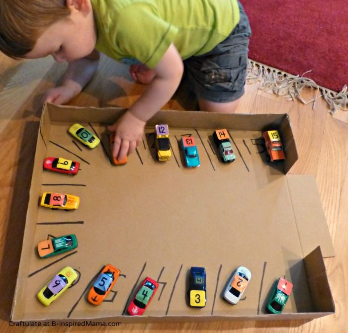 Brilliant! Numbers Learning with a Car Parking Numbers Game