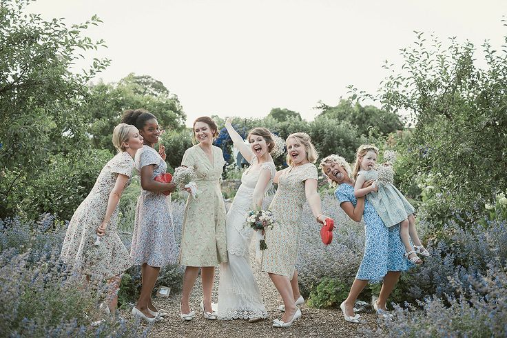 A Claire Pettibone Gown For A Vintage, Country Fete Inspired Wedding
