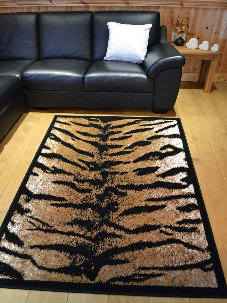Decoration Animal Print Rugs For Room Gorgeous