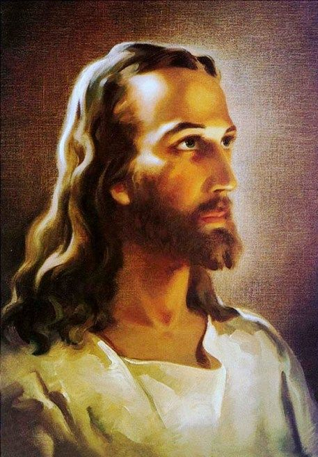 'Head of Christ', Warner Sallman, painting