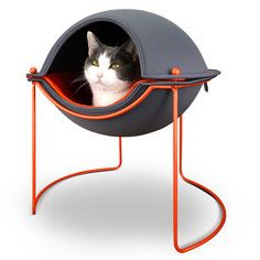 Fab Exclusive Pod Bed, $66, now featured on Fab...space age kitty