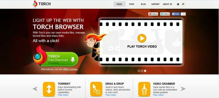 Torch Browser is a chromium based web browser developed by Torch Media. Torch Chromium Browser Free Download Latest version r89-n-bf