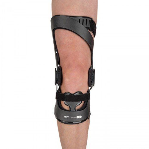 Ossur MVP Contour OTS Ligament Knee Brace-L-Right - Black by Ossur. $419.99. INDICATIONS FOR USE:ACL, MCL, LCL, PCL instabilities Mild to severe ligament laxity, sprain, or deficiency Protection and stabilization of ligaments after surgical repair or reconstruction PRODUCT HIGHLIGHTS:Flexible subshells allow for changes in anatomy during rehab from acute injury or surgery, without sacrificing stability or fit Frame provides total ligament support via multiple point...