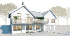 Arkitektritade husmodeller, husritningar och hustyper - Trivselhus