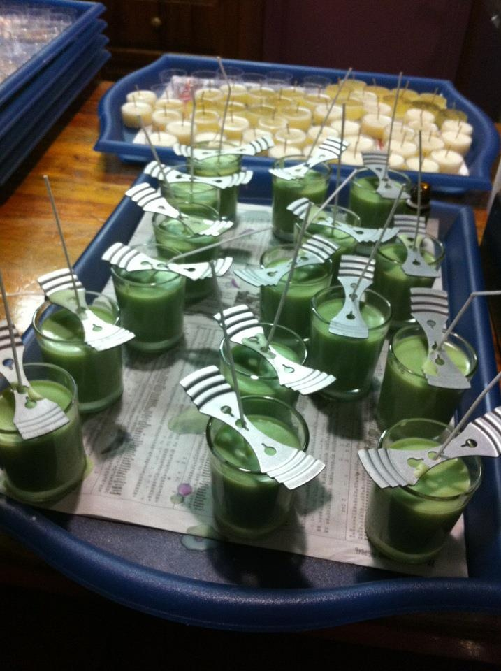 Balancing and grounding blend candles at Daylesford Aromatherapy