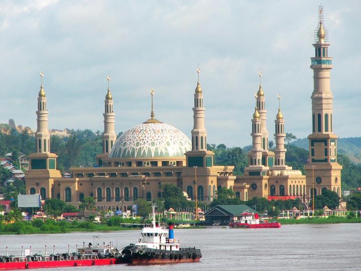 Mesjid di Samarinda-Indonesia