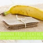 Make Fruit Leather without a Dehydrator! Raspberry Peach Fruit Leather
