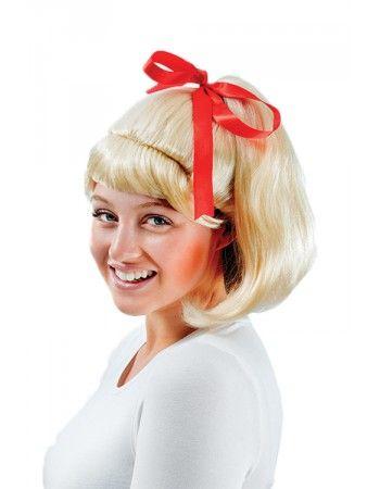Perruque à frange Grease femme Articles de fête Perruques adultes #grease #sandy #deguisement #costume #perruque
