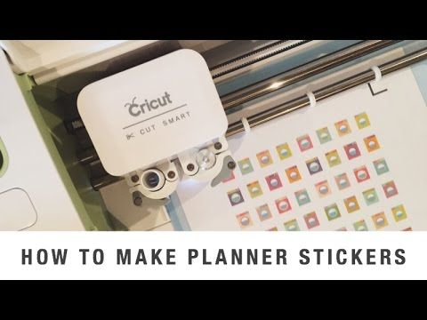 Business planner stickers cricut