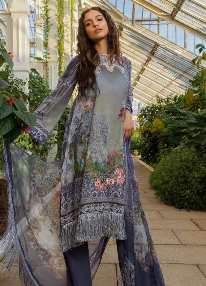 60fed27af9 Sobia Nazir Embroidered Lawn Unstitched 3 Piece Suit SN19L 15A - Spring / Summer  Collection