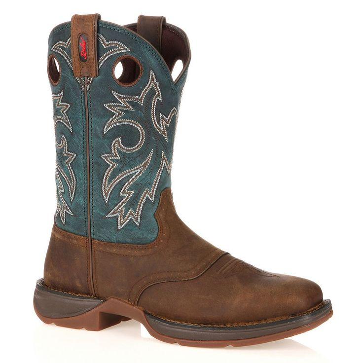 Durango Rebel Men's 11-in. Western Boots, Size: medium (10.5), Blue (Navy)