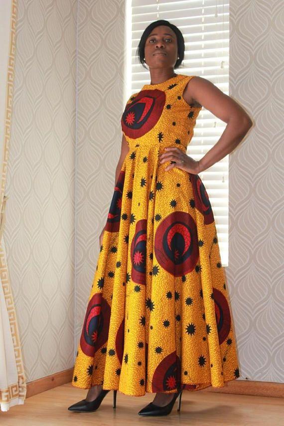 African Dress African Clothing Ankara Dress African