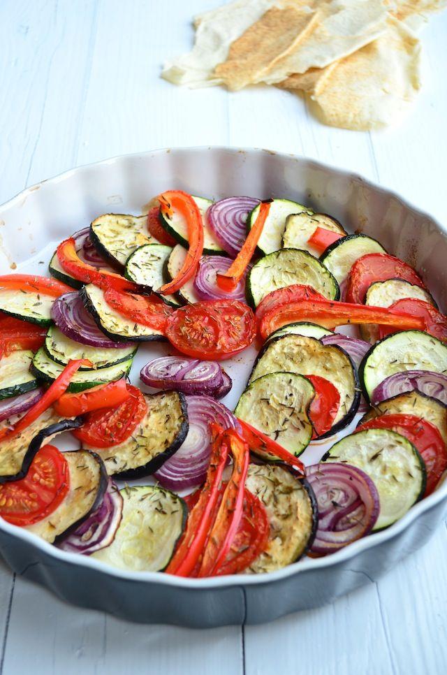 Makkelijke Maaltijd: Ratatouille uit de oven - Ratatouille #healthy #food