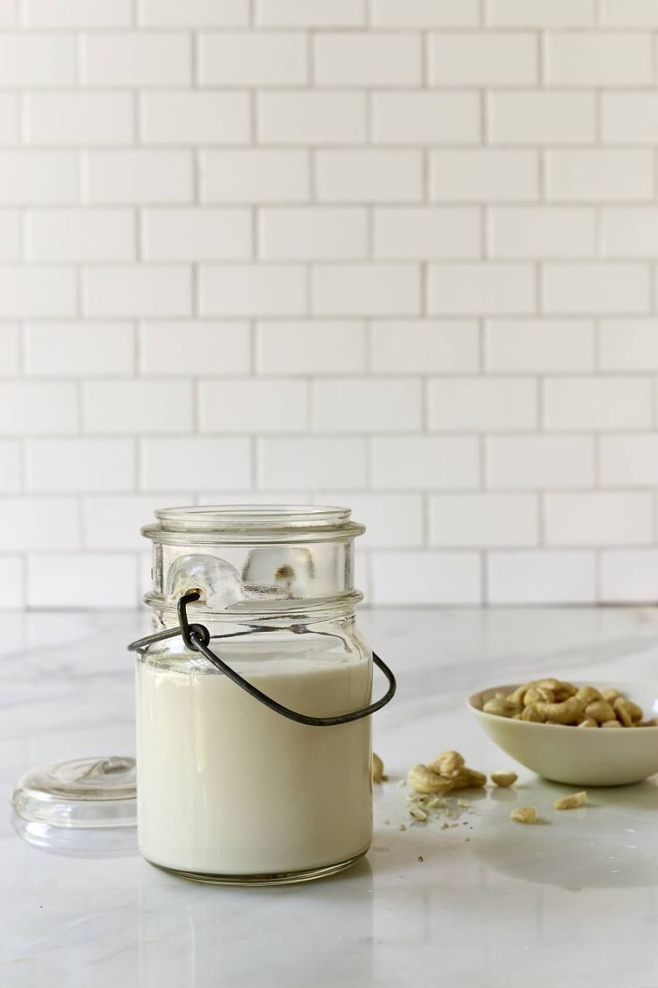Creamy Cashew Milk - Make delicious raw creamy cashew milk in seconds with your blender. The best thing about this vegan milk? You don't need to strain! Just blend and devour.