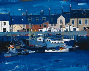Hamish MacDonald. Arbroath Harbour