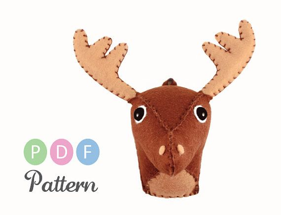 141 best crafts moose stuff images on pinterest elk christmas crafts and christmas deco - Fake stuffed moose head ...
