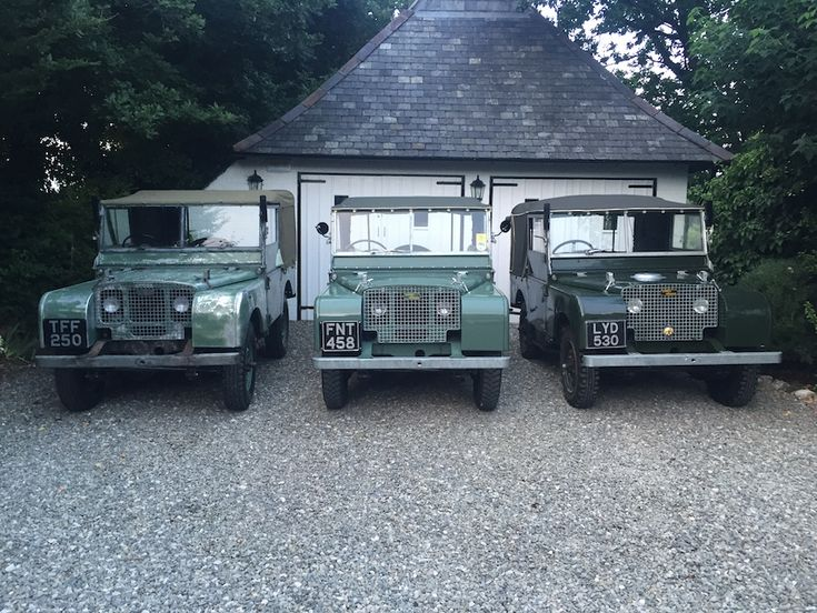 "Land Rover Series 1 80"" 1950 (LYD 530) - Williams Classics"