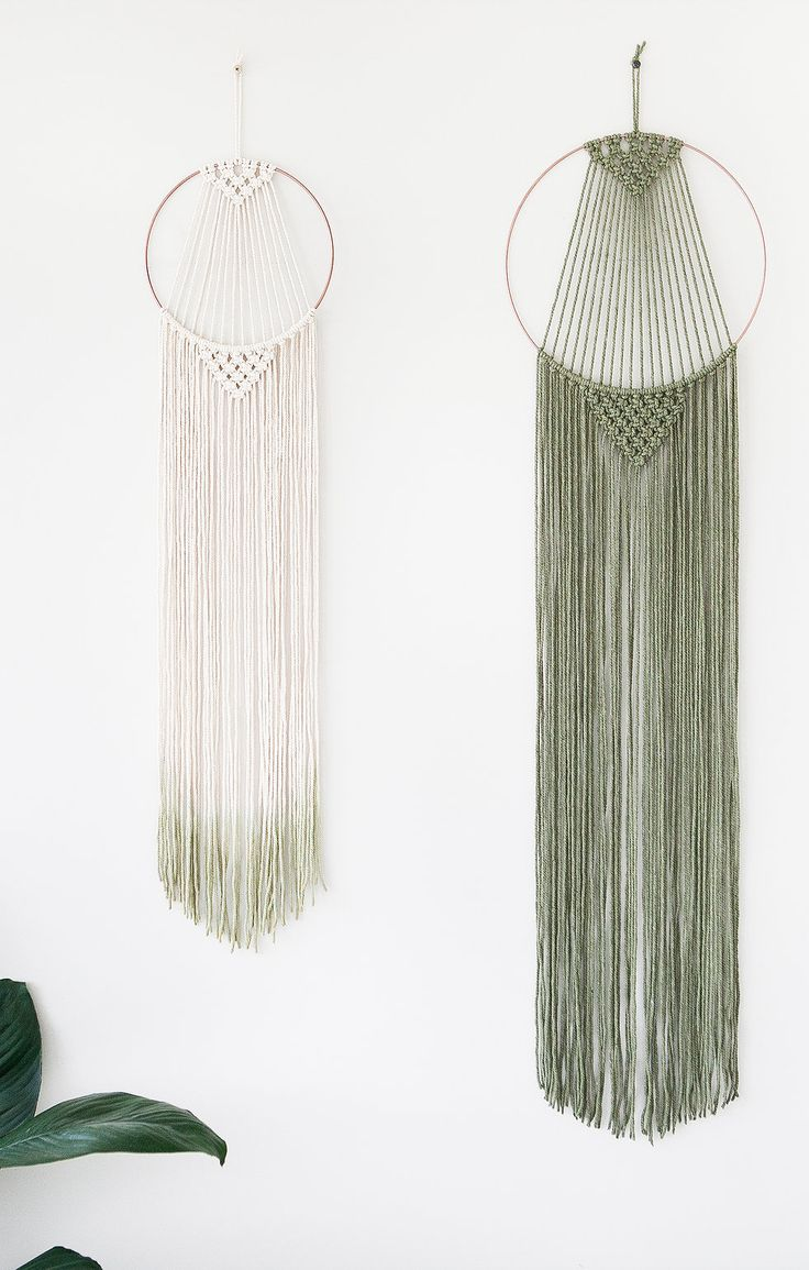 Handmade With Locally Sourced Materials Macrame Wall