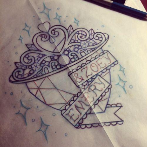 tiara tattoo