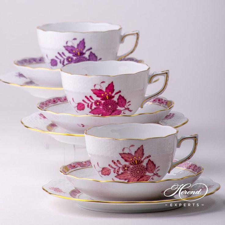 Tea Cup – Apponyi Light Purple - Herend Fine china 701-0-00 AP2 - Light Purple