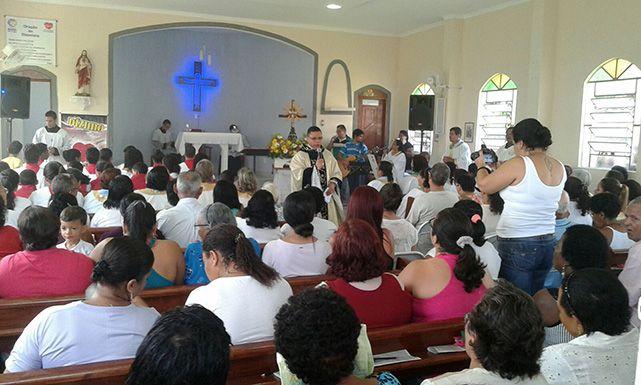 Missa em Louvor a Nossa Senhora Aparecida em Seropédica